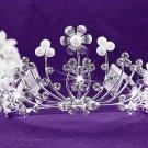 Elegance Wedding Silver Regal;Fashion Dancer Opera Tiara;Fancy Headpiece;Bridal imperial#4650