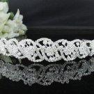 Fancy Headband;Bridal imperial;Fashion Dancer Opera Tiara;Silver Elegance Wedding Regal#2673