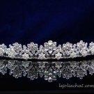 Fancy Headpiece;Bridal imperial;Fashion Dancer Opera Tiara;Silver Elegance Wedding Regal#pj38