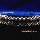 Fancy Headband;Bridal imperial;Fashion Dancer Opera Tiara;Silver Elegance Wedding Regal#3019R