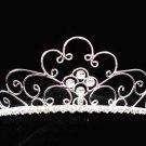 Fashion Dancer Opera Tiara;Fancy Headband ;Bridal imperial;Silver Elegance Wedding Regal#G211
