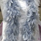 Wedding Party Decoration; 50g fuzzy chandelier feather boa for woman;for dancer #50gy