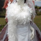 Wedding Party Decoration; 50g fuzzy chandelier feather boa for woman;for dancer #50w