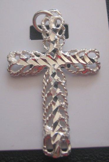 Filigree Cross Pendant
