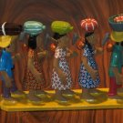 Original Vintage Brazilian Vitalino Ceramics Peasants by Paulo Rodrigues