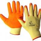 SWWW110YO-M Dozen - Yellow/Orange Nitrile Coated Work Gloves Medium
