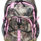 SWDSI1169 - Mossy Oak Backpack with Pink Trim