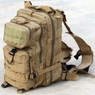 Coyote Tan Tactical Military Style Backpack w/ Molle  SWWW530