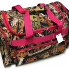 22 INCH CAMO TRAVEL BAG PINK TRIM  SWDSI1242