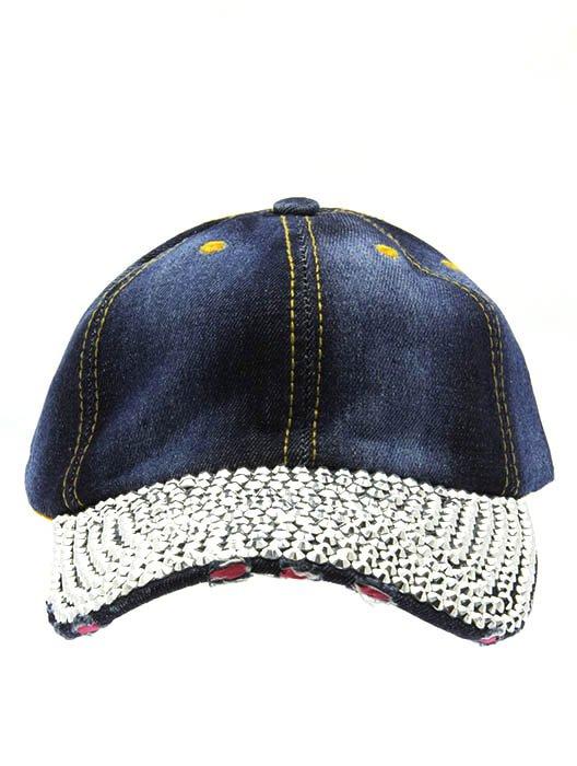 SWRUBNLH2209RDBUA - BLUE DENIM SNAPBACK  HAT AND CAP