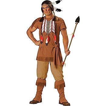 SZ Large Mens Elite Indian Brave Costume - SWWHCIC1071