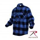 SZ Large Rothco Extra Heavyweight Buffalo Plaid Flannel Shirts - 4739
