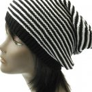 SWRUBDAH3306BKW- KNITTED BEANIE HAT AND CAP