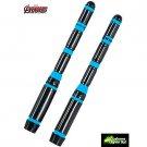 2 Light Up Black Widow Batons - SWWHC-36358R