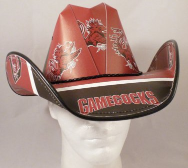 South Carolina Gamecocks Cowboy Hat Made Of Officially Licensed Materials   SW-ETSBBH