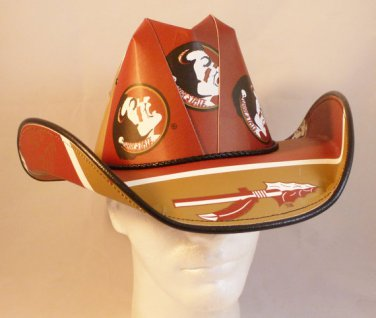 Florida State Seminoles Cowboy Hat Made Of Officially Licensed Materials   SW-ETSBBH