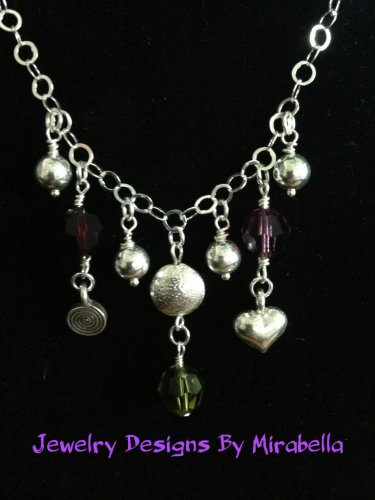 Sterling Silver and Crystal