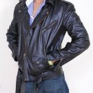 Men lamb leather jacket by Ruby Leather