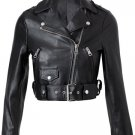 lamb leather women jacket , ladies jacket , Biker jacket , motorbike jacket by Ruby leather