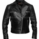 Women lamb leather biker , ladies jacket, Biker jacket ,  Motor biker jacket by Ruby Leather