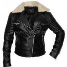 Women lamb leather biker , Biker jacket ,  Motor biker jacket by Ruby Leather
