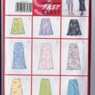 Butterick Pattern B5431 Misses'/Misses' Petite Skirt SIZE 18-20-22 PLUS SIZE