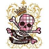 not a princess tshirt