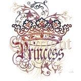 goth princess crown tshirt