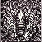 Raul Dufy - L' Ecrevisse' - Le Bestiaire Woodcut