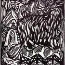 Raul Dufy - La-chevre du Thibet - Le Bestiaire Woodcut