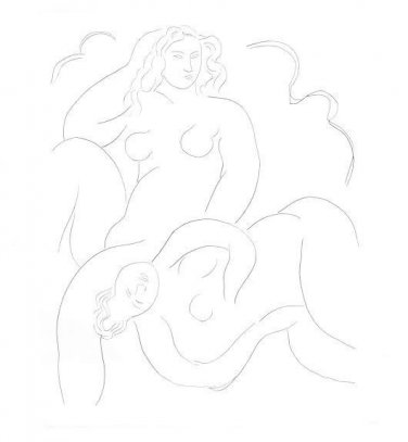 Henri Matisse - Poesies - limited Edition Lithograph