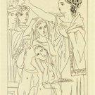 Picasso - Aristophanes - Lysistrata Gravure #5