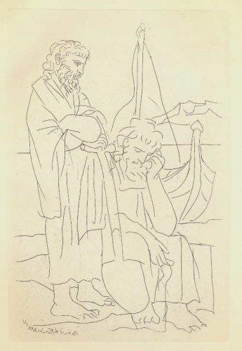 Picasso - Aristophanes - Lysistrata Gravure #3