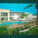 Vintage 1974 Vagabond Motel Miami postcard