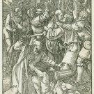 Albrecht Durer - Betrayal of Christ - Woodcut