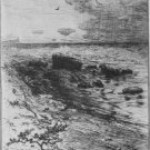 Robert Swain Gifford Along The Shore Etching