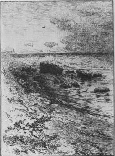 Robert Swain Gifford Along The Shore Etching