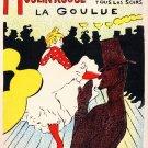 Henri Toulouse Lautrc Moulin Rough Lithograph