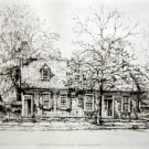 """Ernest David Roth """"Hugh Mercer's Apothecary Shop"""" Etching"""