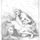 Joseph Ribera - San Girolamo - Etching - Engraving - pre1800