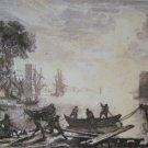 Claude Lorrain -Sunrise - Etching-  pre 1800
