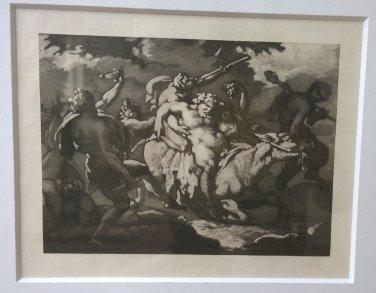 Théodore Géricault �Triumph of Abacus� Etching & Aquatint