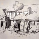 George Stubbs - Sketch of a Farm House - Chromo - Lithography