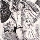 Harold Callander - Vu par un American - Etching