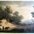 Thomas Gainsborough R.A. -  Lonely Traveler -  Soft Ground Etching