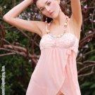 Peach Babydoll Wrap
