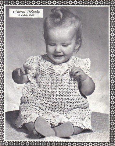 Infants and Girls Crochet Patterns Elizabeth Hiddleson