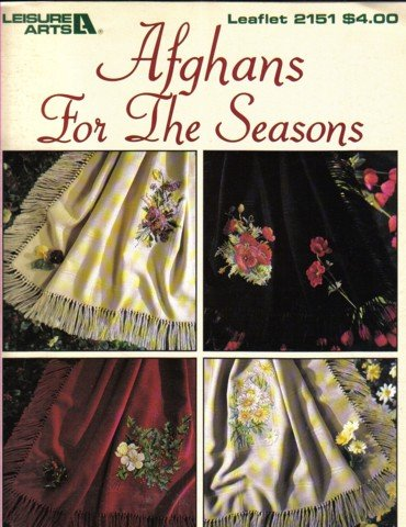 Afghans For The Seasons 4 designs for Anne Cloth Cross Stitch