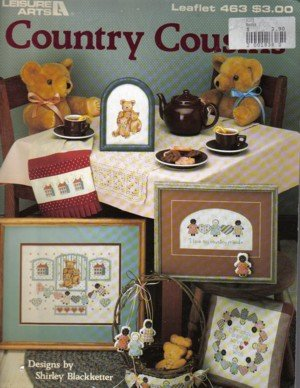Country Cousins and Teddy Bears to Cross Stitch