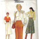 Misses' Vogue 7444 Very Easy Skirt Patterns 3 types of skirts, size 10